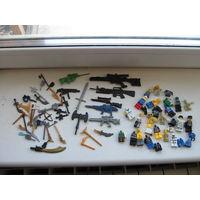 Лего аналог ,оружие для лего человечков