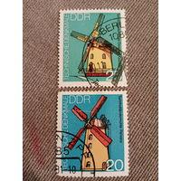 ГДР 1981. Ветряные мельницы