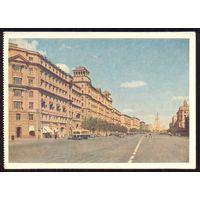 СССР ДМПК 1956 Москва Можайское шоссе  Витебск-Друскининкай прошла почту