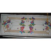 БССР. Ручная вышивка крестиком. Изготовлено в 60-70  годы 20 века.