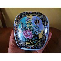 Антикварная Сатсума /Кутани японская фарфоровая ваза.Раритет!