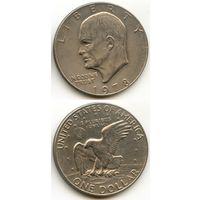 США 1 доллар 1978 г. (Без буквы, USA, Америка)