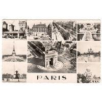 Париж. - Виды Парижа. 1950-1960-ые.