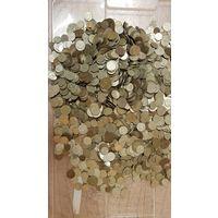 Монеты СССР 1961 г.-1991 г. вес 9,50 кг. без перебора