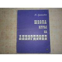 Школа игры на аккордеоне. 1987 год.