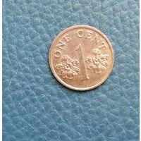 Сингапур. 1 цент 1994. Большая распродажа коллекции