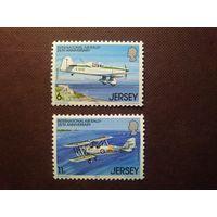 Великобритания .Остров Джерси 1979 г.Авиатехника.