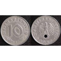 YS: Германия, Третий Рейх, 10 рейхспфеннигов 1940G, КМ# 101 (2)