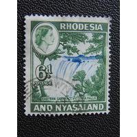 Родезия и Ньясаленд 1959 г. Флора.