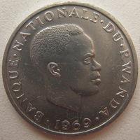 Руанда 1 франк 1969 г.