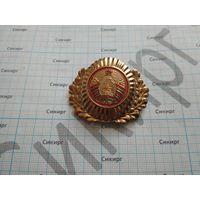 Кокарда МВД РБ на фуражку современная