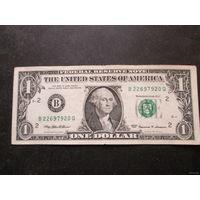1 доллар США 1999 г., B 22697920 Q, VF