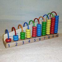 Арифметический счёт Развивающая деревянная игрушка счёты