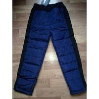 Новые болоневые утепленные штаны на рост 104-110