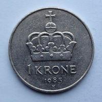 Норвегия 1 крона. 1985