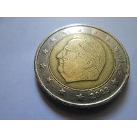 2 евро, Бельгия 2003 г.