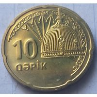 Азербайджан 10 гяпиков, 2006    ( 3-5-1 )