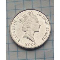 Соломоновы острова 10 центов 2000г.