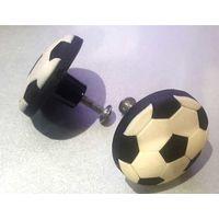 Ручка мебельная резиновая Футбольный мяч