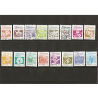 Никарагуа 1983 Цветы 16 марок