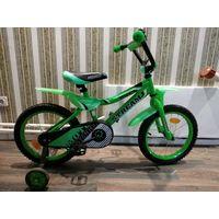 Детский велосипед Stream Moto 16 (зеленый)