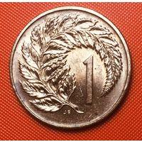 29-13 Новая Зеландия, 1 цент 1980 г.