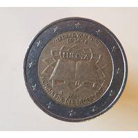 2 евро Нидерланды 2007 50 лет Римскому договору