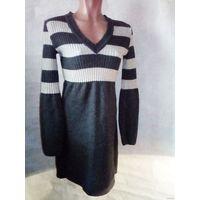 Платье туника трикотаж 1