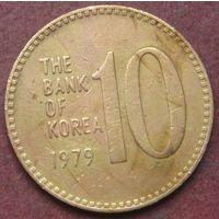 6545:  10 вон 1979 Корея