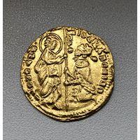 Италия венецианский дукат, цехин Джованни Градениго, 1355-1356