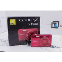 Компакт-камера Nikon Coolpix S3500 (20 Мп, 7X zoom ). Гарантия