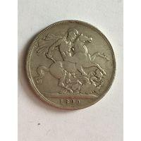 1 крона 1890
