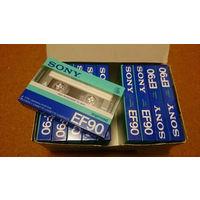 Аудиокассеты Sony EF90 Made in Japan