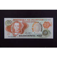 Филиппины 20 писо 1978 UNC