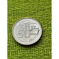 Сингапур 50 цент 2013