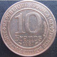 1k Франция 10 франков 1987 Капетинги В ХОЛДЕРЕ распродажа коллекции