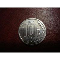 10 сентаво 2007 года Мексика