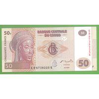 Конго, 50 франков, 2007 г., UNC