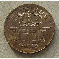 Бельгия 50 сантимов 1998 г. (belgique)
