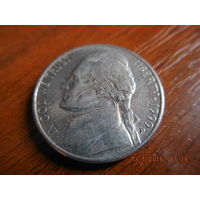 5 центов, США, 1999 г. Р