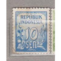 Индонезия 1951 год лот 1012