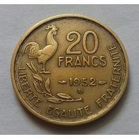 20 франков, Франция 1952 В