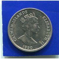Каймановы острова 10 центов 1990