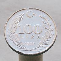 Турция 100 лир 1987