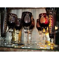 Бокалы BUZAU PERLA LUX, марганцевое стекло