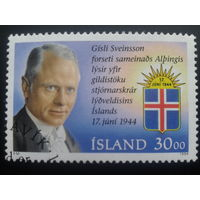 Исландия 1994 политик