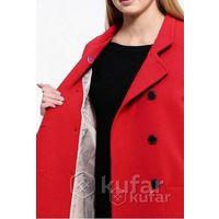 Красное пальто only