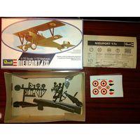 1/72 Revell Neuport 17C самолет Первой мировой войны