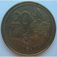 Лесото 20 лисенте 1998 г.