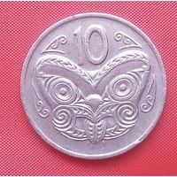 62-04 Новая Зеландия, 10 центов 1977 г.